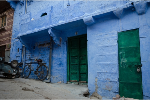 SERGE HORTA - THE BLUE HOUSE