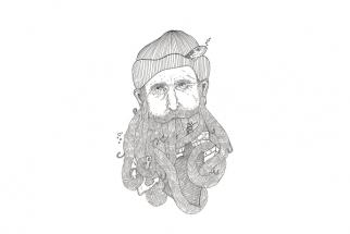 DIRCE RUSSO - FISHERMAN